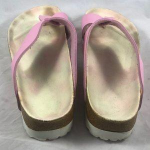 Birkenstock Shoes - Birkin sandals Sz 40 Pink Crisscross Birkenstock's